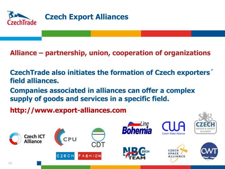 Czech Export Alliances