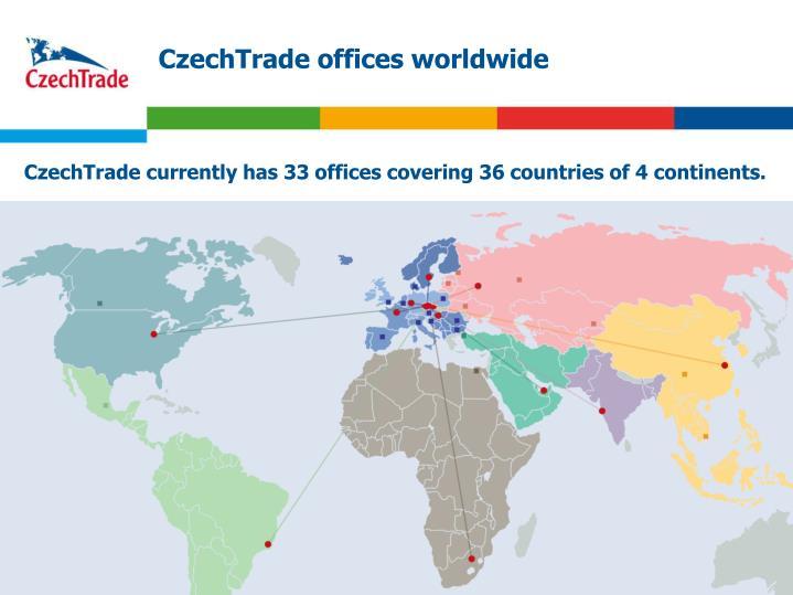 CzechTrade offices worldwide