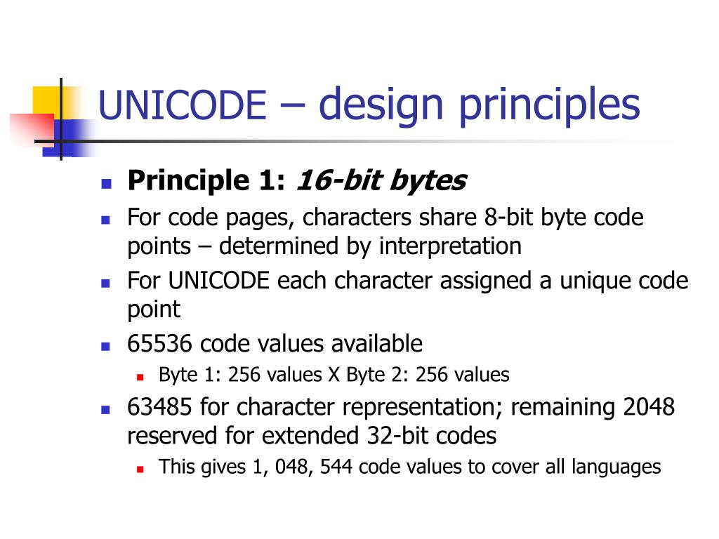 Image result for Principals of Unicode