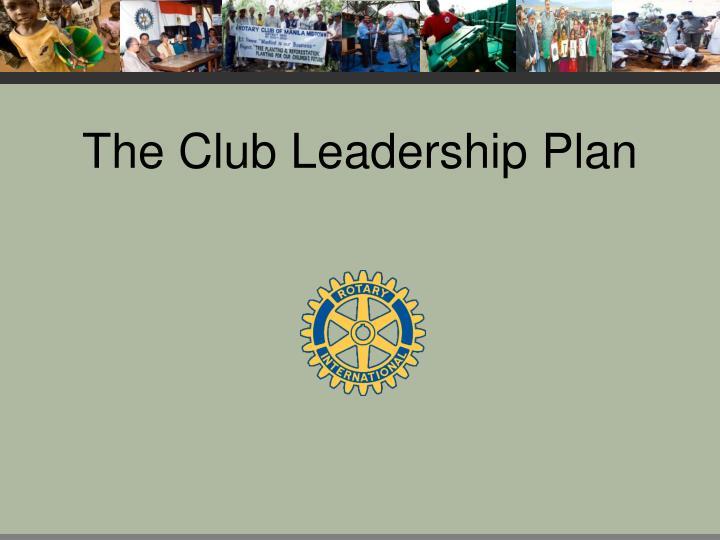 the club leadership plan n.