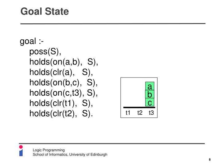 Goal State