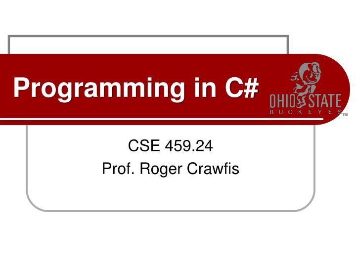 programming in c n.