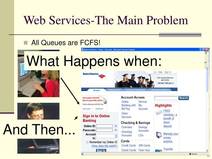 Web Services-The Main Problem