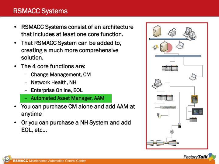 RSMACC Systems