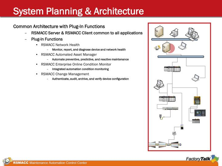 System Planning & Architecture