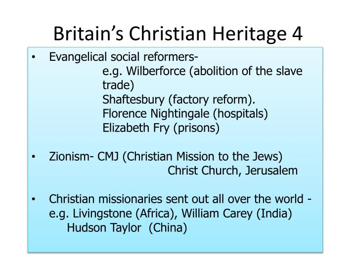 Britain's Christian Heritage 4
