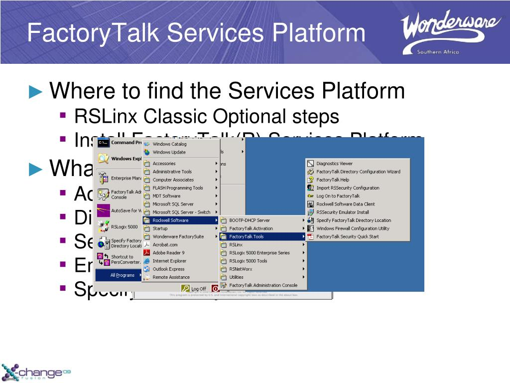 PPT - How to secure your Rockwell PLC's and enforce Software Change