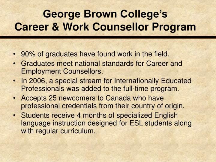George Brown College's