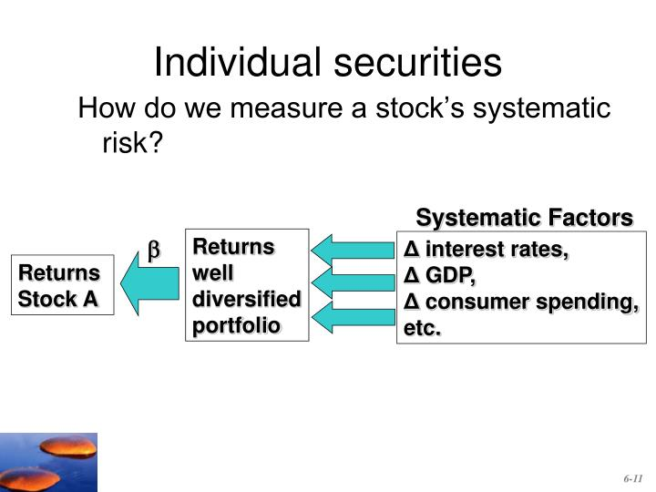 Individual securities