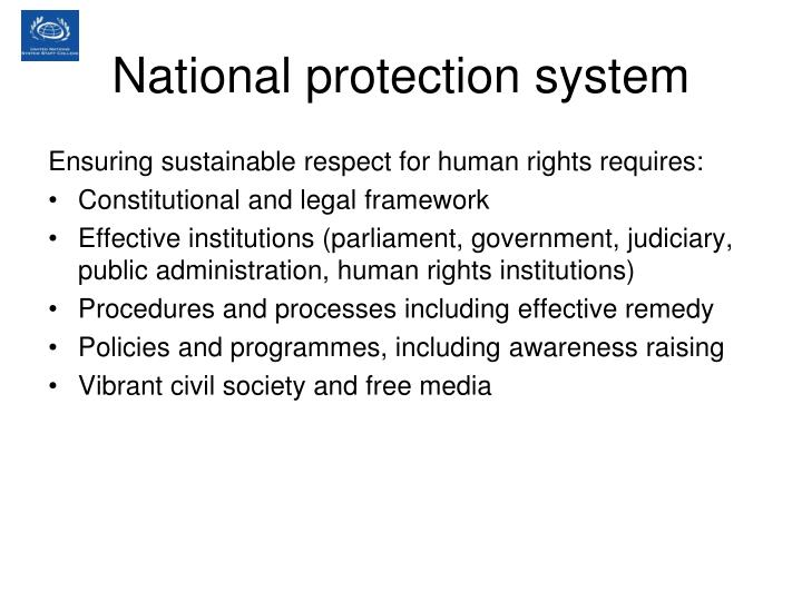 National protection system