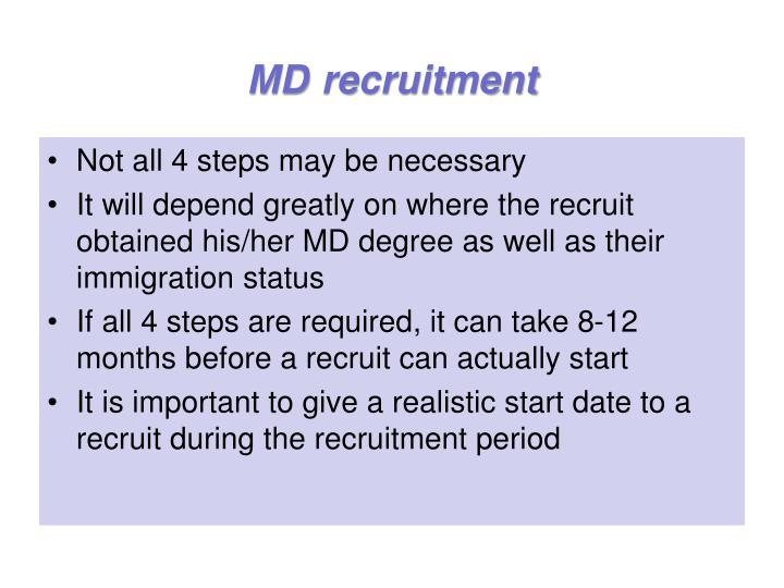Md recruitment1