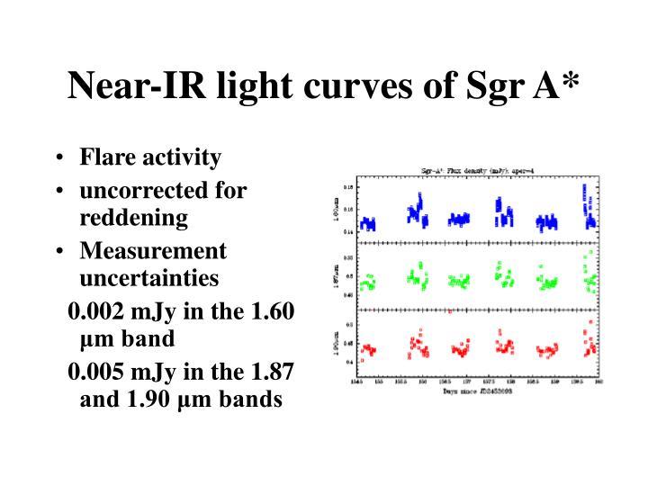 Near-IR light curves of Sgr A*