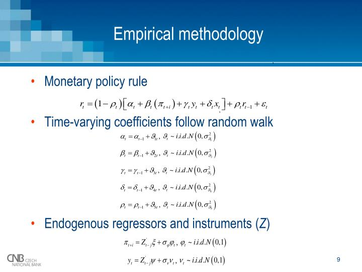 Empirical methodology