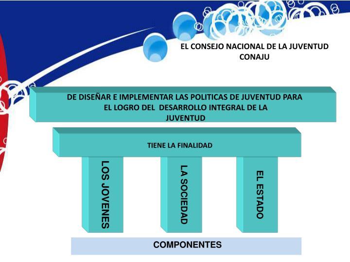 EL CONSEJO NACIONAL DE LA JUVENTUD