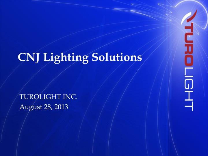 cnj lighting solutions n.