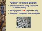 digital in simple english