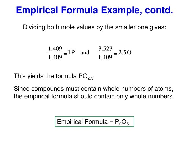 empirical formula of copper Experiment- empirical formula of copper(ii) oxide - duration:  empirical formula & molecular formula determination from percent composition.