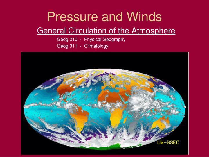 pressure and winds n.