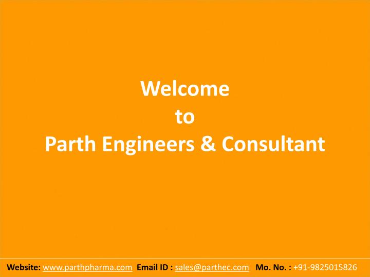 welcome to parth engineers consultant n.