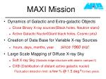 maxi mission