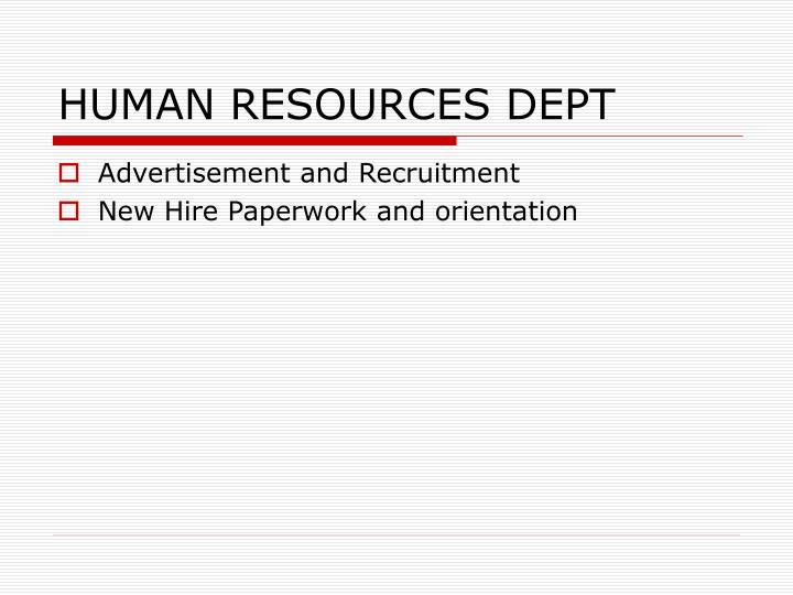 Human resources dept1