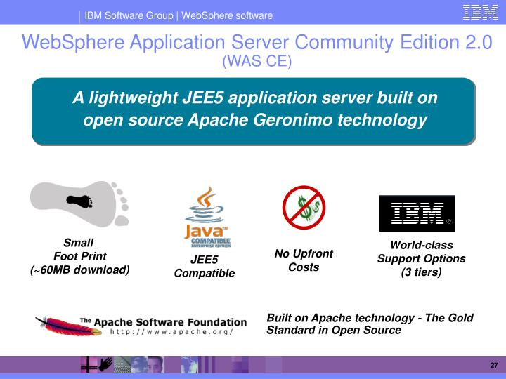 websphere application server community edition 2 download