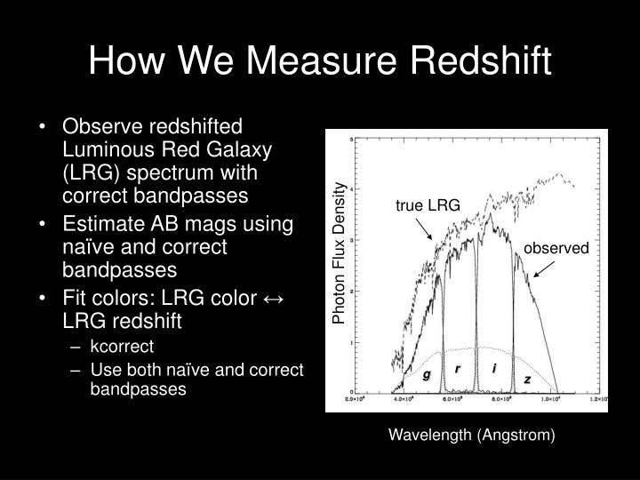 How We Measure Redshift