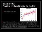 exemplo 03 an lise e classifica o de dados