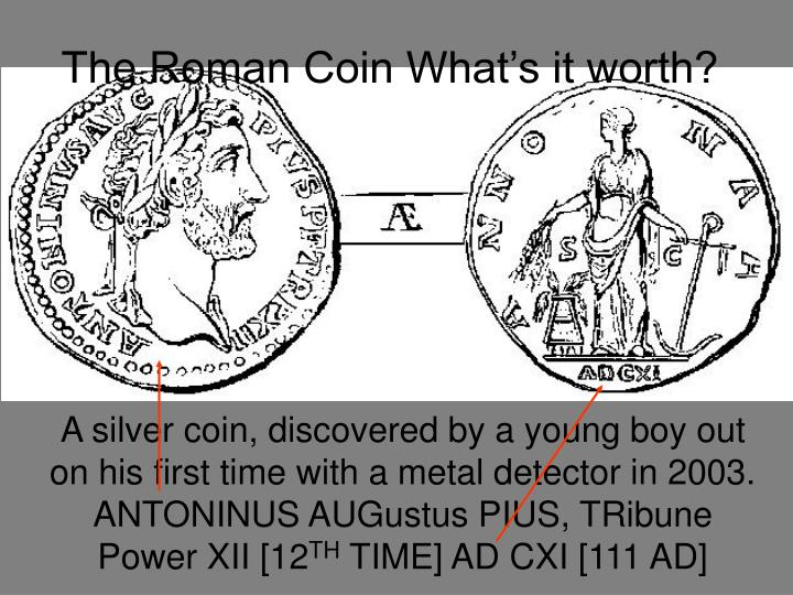 the roman coin what s it worth n.