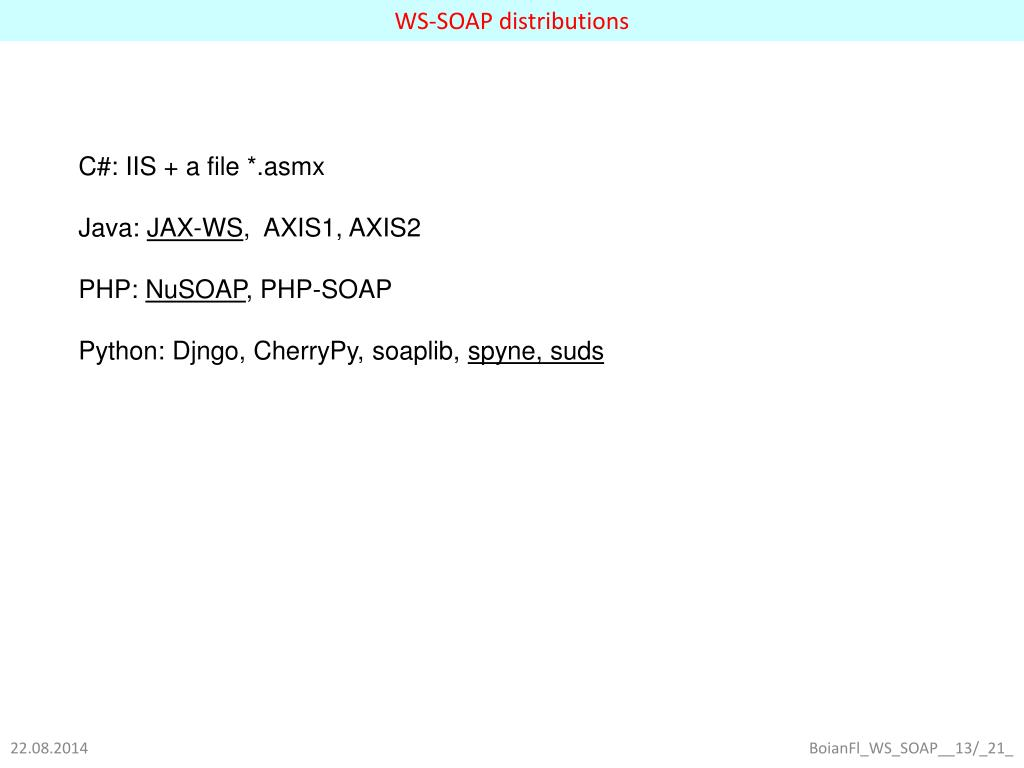 PPT - 3  WS protocol stack PowerPoint Presentation - ID:3410764