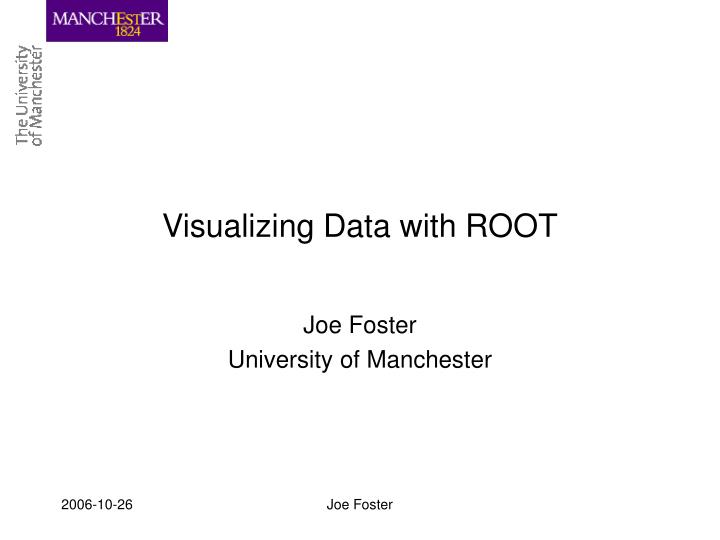 visualizing data with root n.