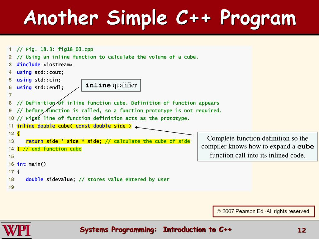 PPT - Introduction to C++ PowerPoint Presentation - ID:3410768