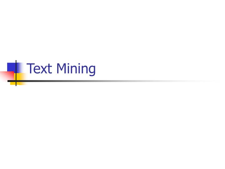 text mining n.