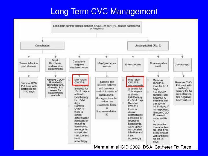 Long Term CVC Management