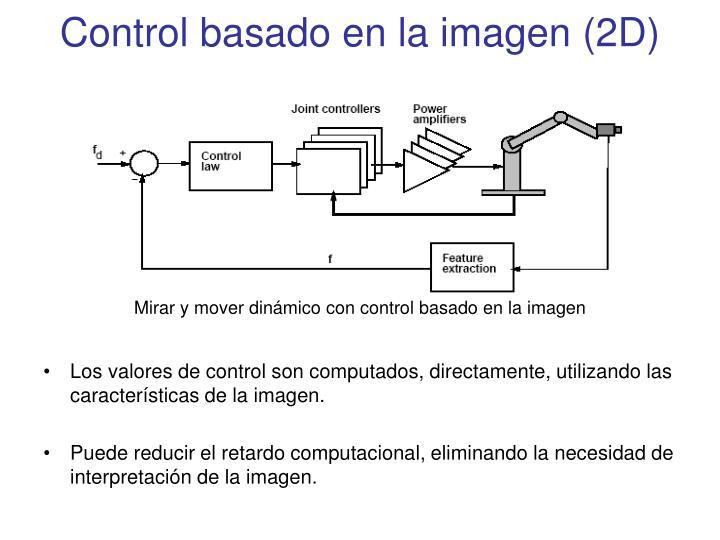 Control basado en la imagen (2D)