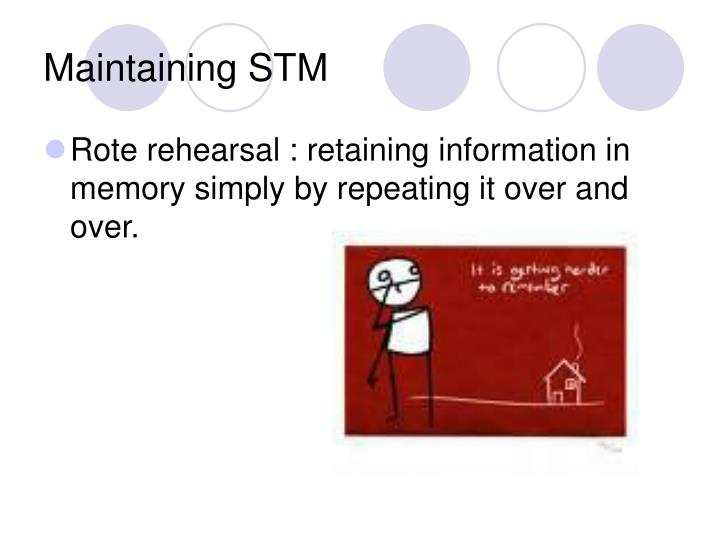 Maintaining STM
