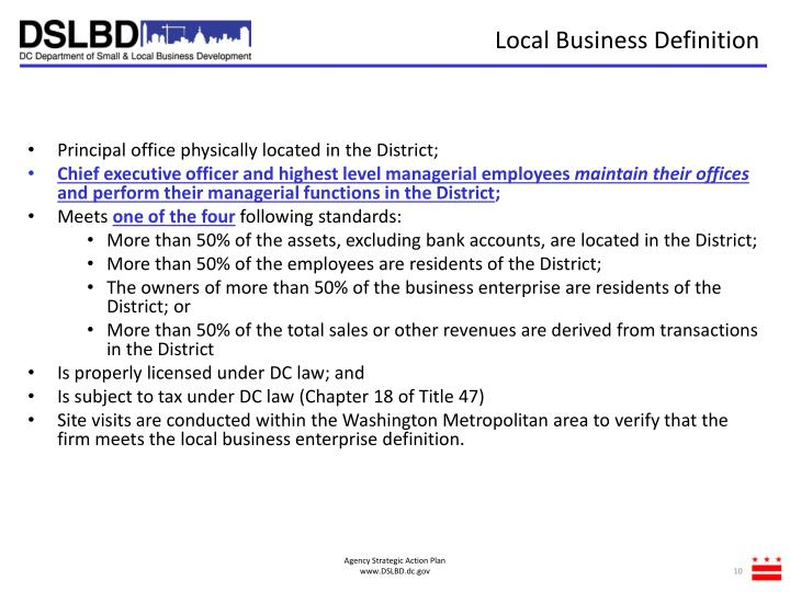 Local Business Definition