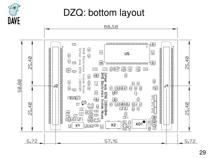 DZQ: bottom layout