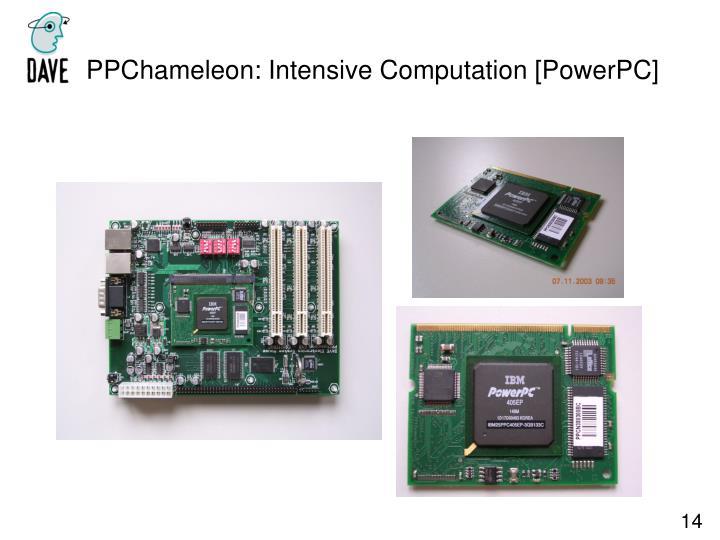 PPChameleon: Intensive Computation [PowerPC]