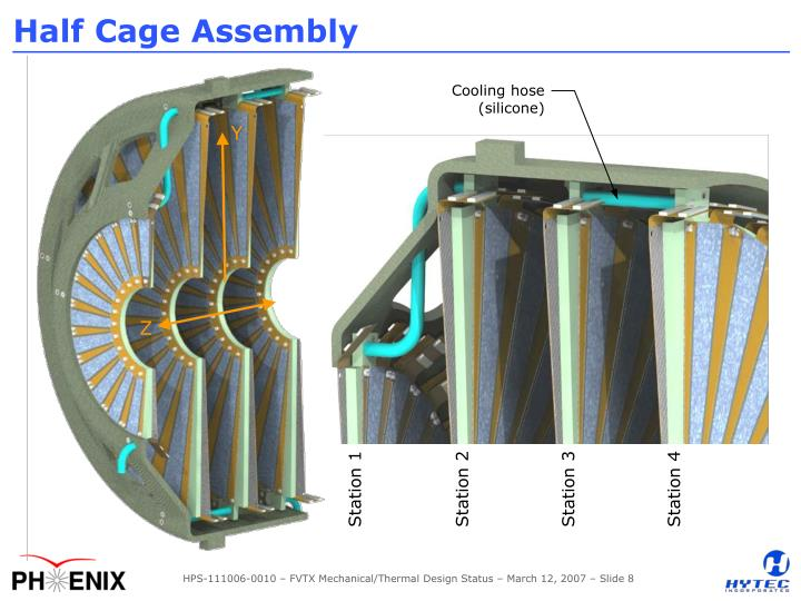 Half Cage Assembly