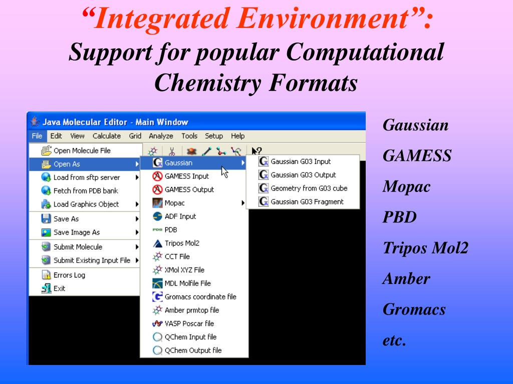 PPT - Development of Integrated Environment for