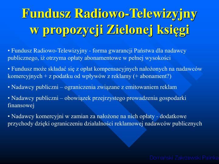 Fundusz Radiowo-Telewizyjny