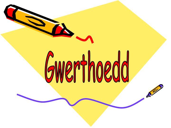 Gwerthoedd