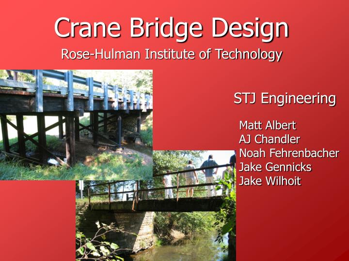 crane bridge design n.