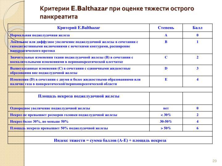Критерии