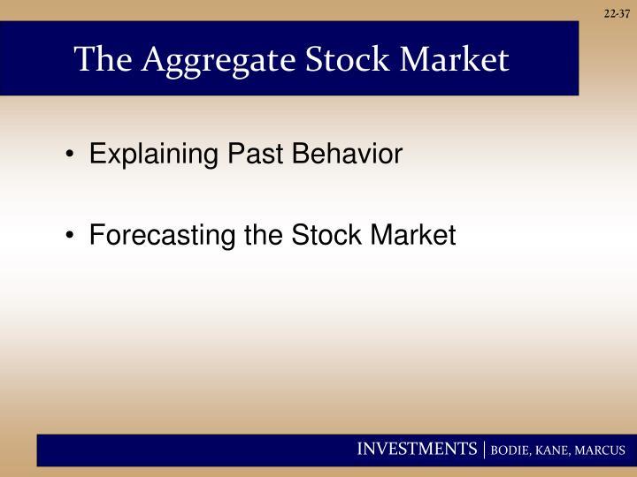 The Aggregate Stock Market