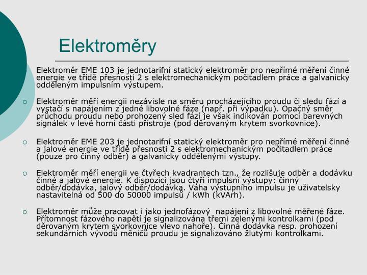 Elektroměry