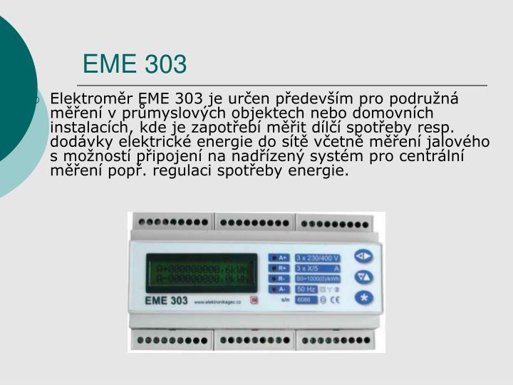 EME 303
