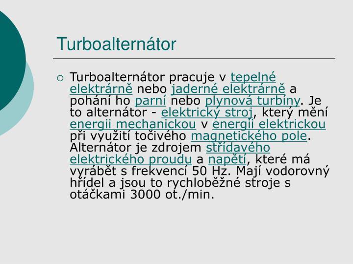 Turboalternátor