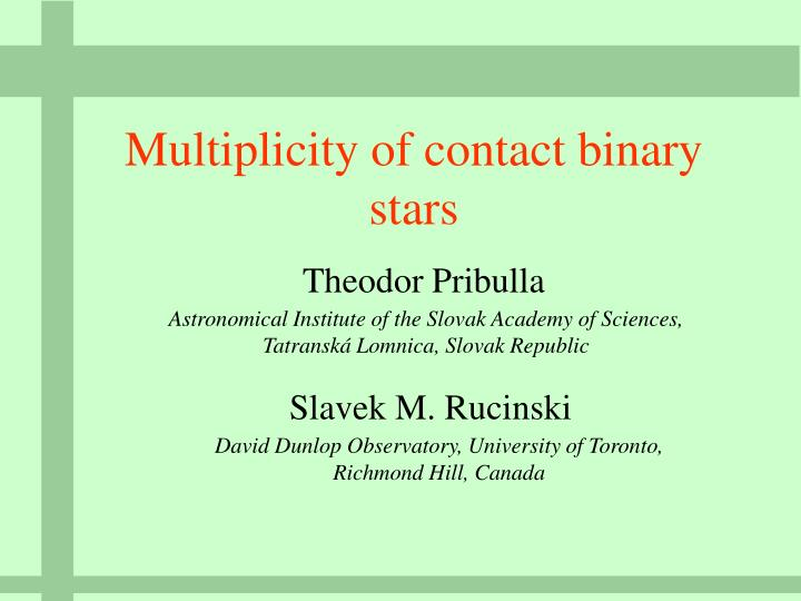 Multiplicity of contact binary stars